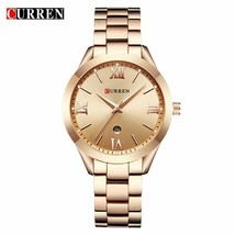 CURREN Fashion Gold Watch Women Watches Ladies 9007 Steel Women Bracelet - $43.06