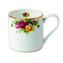 Royal Albert Old Country Roses Modern Mugs   Set of 4 - $85.00