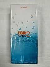 Kenzo L'Eau 2 Homme EDT Eau De Toilette Spray 100ml 3.4fl.oz NEW MEN - $69.99