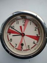 "Soviet Navy ship's clock ""3 minutes of silence"" - Metal Alloy - £160.44 GBP"