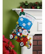 Bucilla - 'Holiday Drive'  Christmas Felt Stocking Stitchery Kit, 86451 - $24.99