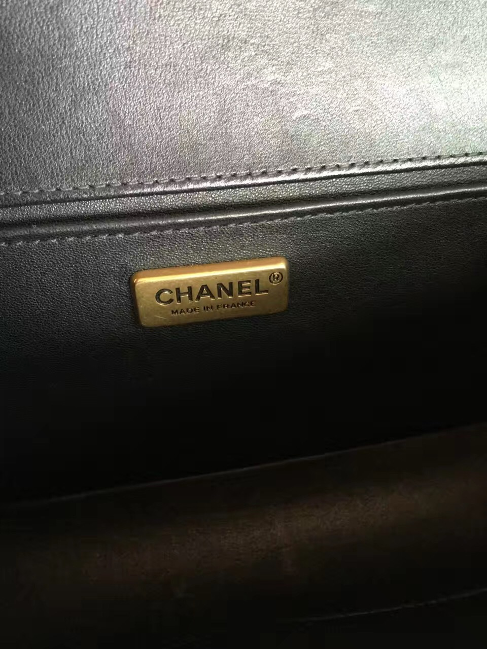817d6ca2a350 AUTHENTIC CHANEL LIMITED EDITION BLACK RABBIT FUR MEDIUM BOY FLAP BAG GHW