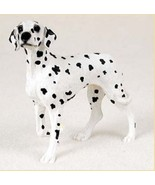 DALMATIAN DOG Figurine Statue Hand Painted Resin Gift Pet Lovers - $17.25