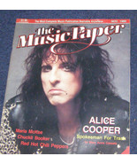 Alice Cooper cover Red Hot Chili Peppers Music paper 1989 - $16.99