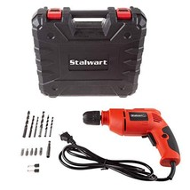 Stalwart Electric Power Drill with 6-Foot Cord – Variable Speed, Reversa... - $49.46