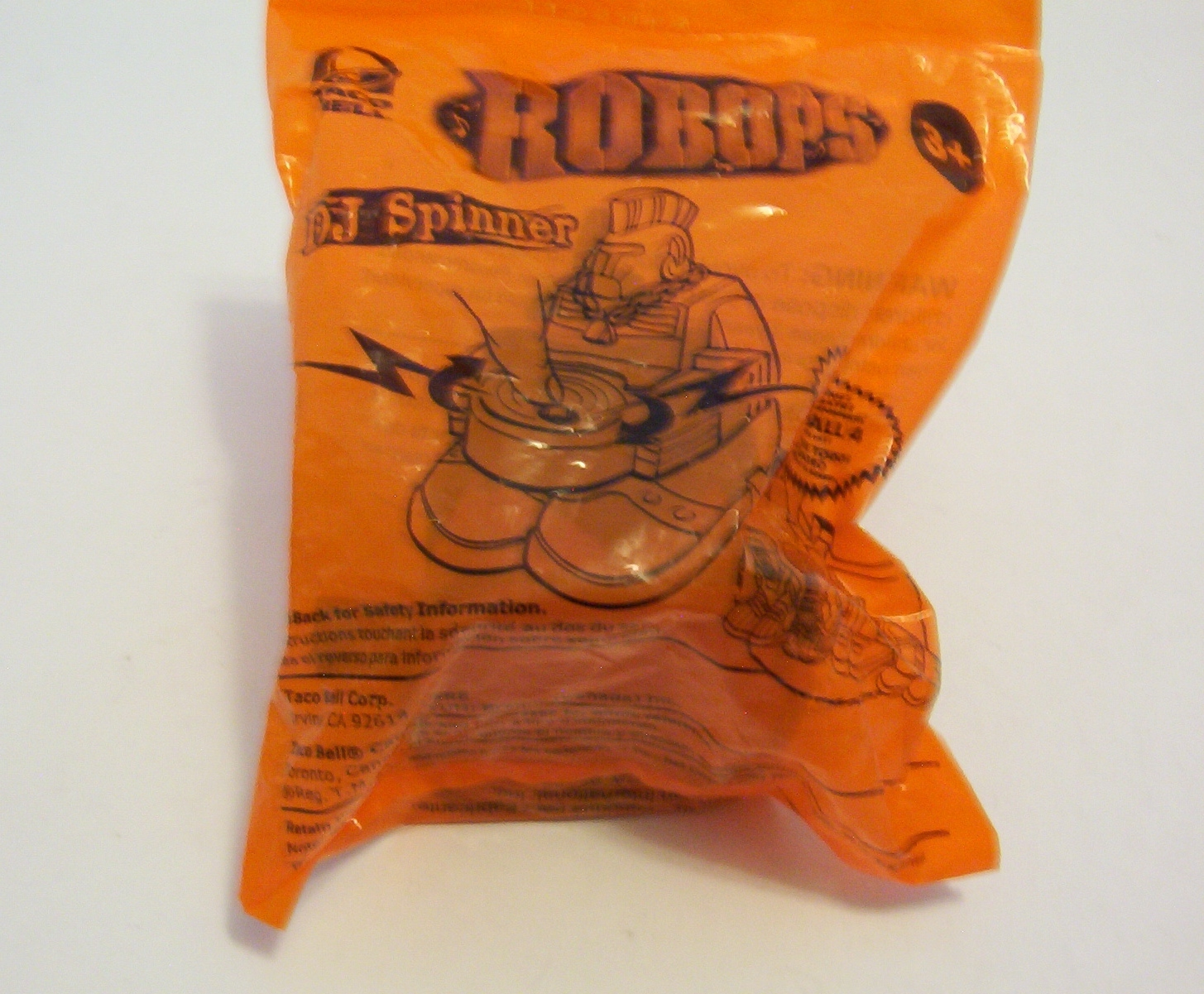 Primary image for Robops DJ Spinner Action Figure Taco Bell 2004 Sealed