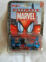 Maisto Ultimate Marvel Die-Cast Collection Series #1 Spider-Man Corvette... - $5.84