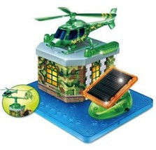 Solar Copter Army Copter Build Your Own Eco-Solar Kid Toys Science Exper... - $19.34