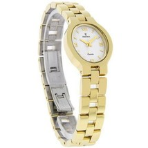 Ladies Easter vintage Festina Watch gold plated Model 8973 dress Spain Q... - $71.78