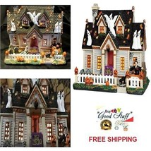 Lemax Spooky Town Collection Building Trick Or Treat House Halloween Tab... - $69.17
