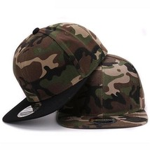 Unisex Cap Camouflage Baseball Hat Adjustable Snap Back 100% Polyester H... - $16.76