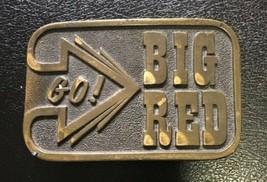 Nebraska Cornhuskers GO BIG RED  Belt Buckle by Adezy Denver  LOOK - $5.95