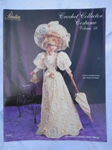 "Paradise Crochet 11 1/2"" Doll Pattern 1903 BRIDES GOING AWAY DRESS P-070 - $10.84"