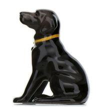 Hagen Renaker Dog Labrador Retriever Sitting Black Ceramic Figurine image 9
