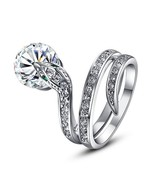 Animal Lovers Swarovski Element Crystal Alloy Snake Ring SLYTHERIN (9) - $15.34