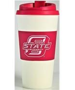 NCAA Oklahoma State University Travel Mug Cup 16oz Reusable Tailgate Par... - $10.88