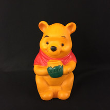 Vintage Vinyl Squeak Toy Winnie The Pooh Sears Roebuck and Co. 7 1/4 In  - $10.00