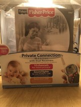 10 Channels Fisher-Price Private Connection Nursery Monitor W/Dual Recei... - $74.25
