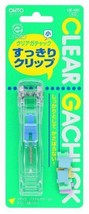 OHTO-stationery-clip GM-400C clear - $6.24