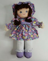 1995 Vintage Sweetie Mine Well Made Toy Doll Blue Eyes Brown Hair Braids... - $39.59