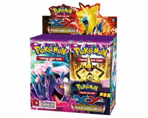 Pokemon TCG XY Phantom Forces 5 Booster Pack Lot