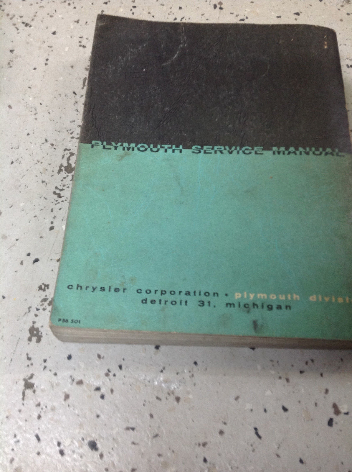 1955 1956 Plymouth Plaza Savoy Belvedere Service Shop Repair Manual FACTORY OEM
