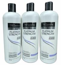 3 X TRESemme Platinum Strength Conditioner 25 oz Renewing Complex Salon ... - $77.63