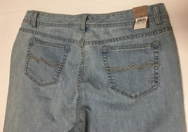 Women's Bermuda Jeans Shorts Sz 14 Hannah Denim image 4