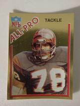 1982 Topps Sticker Anthony Munoz Cincinnati Bengals All-Pro Card - $3.00