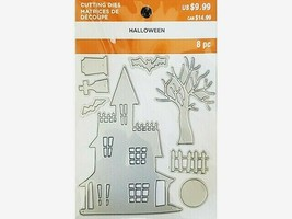 MSPCI Halloween Haunted House Cutting Die Set #662001