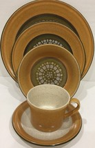 5 Pc Place Setting in Gano by Vintage Premiere--DuraStone Service For 1 - $39.59