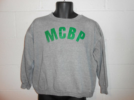 VTG 70s Heather Gray Russell Athletic Rayon Tri Blend MCBP Cropped Sweat... - $19.99