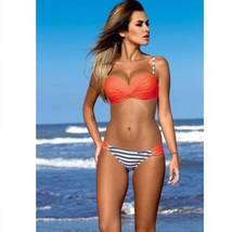 Women Bikini Set Push-up Padded Bra Swimsuit Swimwear Beachwear Bathing ... - $19.50