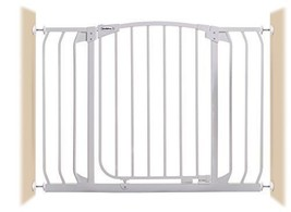 Bindaboo Hallway Pet Gate Swing Closed White - $107.78