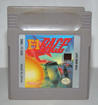 Nintendo GAME BOY - F-1 RACE (Game Only) - $6.50