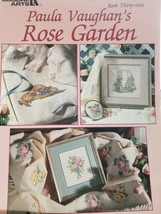 "Counted Cross Stitch Book ""Rose Garden"" - $3.00"