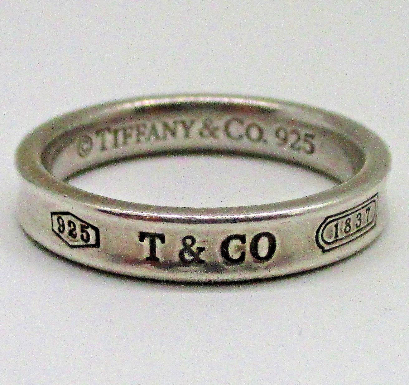 a16651984a1c9 TIFFANY & CO. Vintage Narrow Concave 1837 and 50 similar items