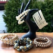 Vintage Bracelets Women's Jewelry Wire Wrap Beaded Lot - $45.66