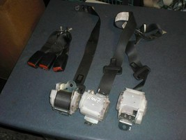 SET OF 3 REAR SEAT BELTS COMPLETE  07 Mitsubishi Galant R144484 - $56.23