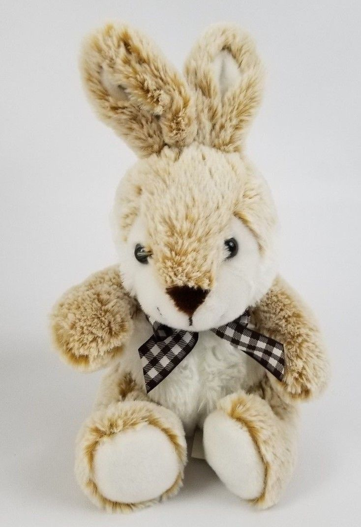 American greetings plush doll 17 listings american greetings tan bunny plush brown easter rabbit stuffed toy animal 125 1979 kristyandbryce Choice Image