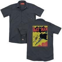 Batman - Batman First (Back Print) Adult Work Shirt - $44.99+