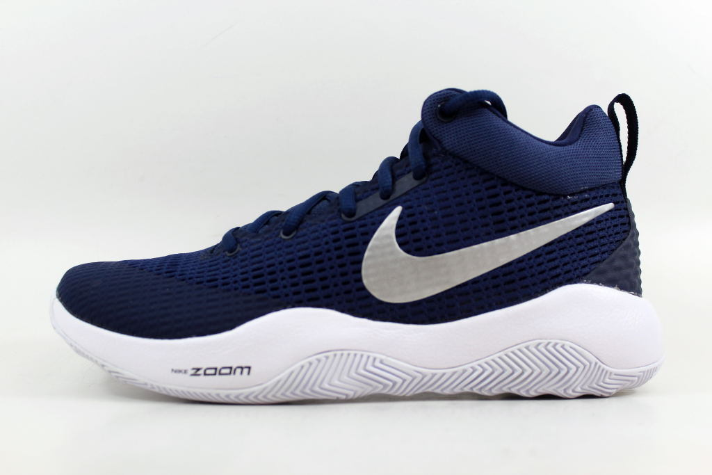 bf497215e3c8 ... Nike Zoom Rev TB Midnight Navy Metallic Silver 922048-401 Men s ...