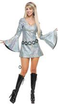 Disco Diva Silver Costumes - $49.98