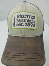 Marmot Mountain Est 1974 Snapback Adult Cap Hat - $12.86