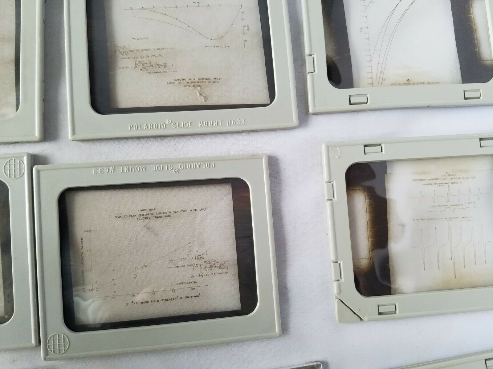 Vintage Slides Slide Mount For Polaroid Viewers Assorted Antique Collectible 17