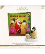 2011 Hallmark Keepsake Ornament - Where's Santa's Stuff Interactive Orna... - $13.36