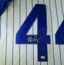 ANTHONY RIZZO / CHICAGO CUBS / AUTOGRAPHED CHICAGO CUBS PRO STYLE JERSEY / COA image 4
