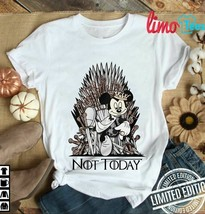 throne-mickey-mouse-not-today-game-of-thrones Best shirt for Father's Da... - $16.99