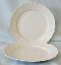 Hutschenreuther Form Dresden White Salad Plate pair - $29.59