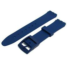 Navy Blue Resin Band to fit Standard Swatch Watch 17mm choice of colours - $9.95